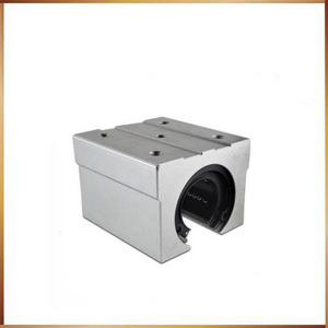 Image 3 - sbr16 free shipping SBR16 SBR16UU 16mm Linear Ball Bearing Block CNC Router