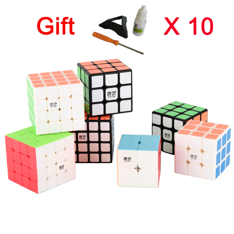 12-15years rubiks cube 3x3x3 4x4x4 Layers 3 by 3 Profissional Competition Speed Puzzle Magic Cube cool Toys for Boys cubo magico dayan 5 zhanchi 3x3x3 brain teaser magic iq cube white
