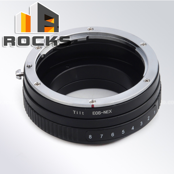 Tilt Adjustable aperture Mount Adapter Ring Suit For Canon E.OS Lens Sony NEX Camera NEX-5T NEX-3N NEX-6 NEX-5R NEX-F3 NEX-7