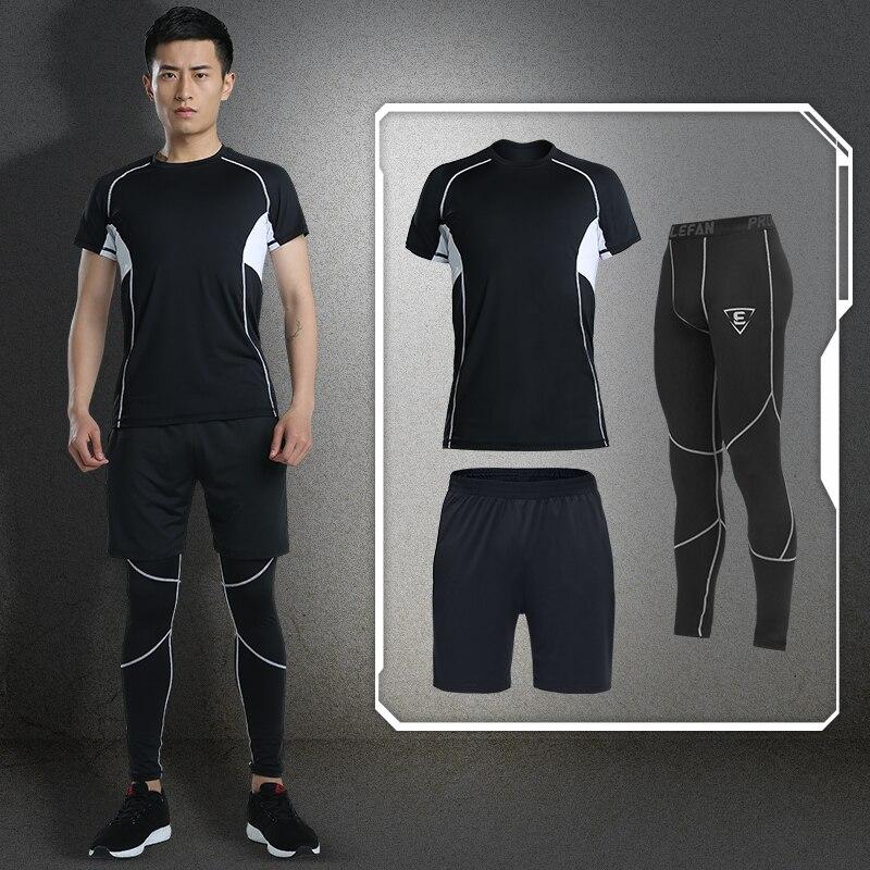 UTTER J6 мужские желтые компрессионные штаны с принтом, спортивные колготки для бега, леггинсы для бодибилдинга, бега, фитнеса, тренажерного за... - 4