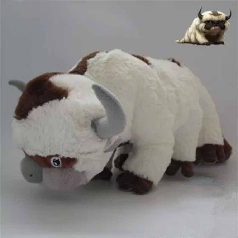 55cm Anime Kawaii Avatar Last Airbender Appa Plush Toys Soft Stuffed Animal Brinquedos Dolls Toys For Kids Christmas Gift [zob] supply of new original omron omron button switch a165s j3m 2 2pcs lot