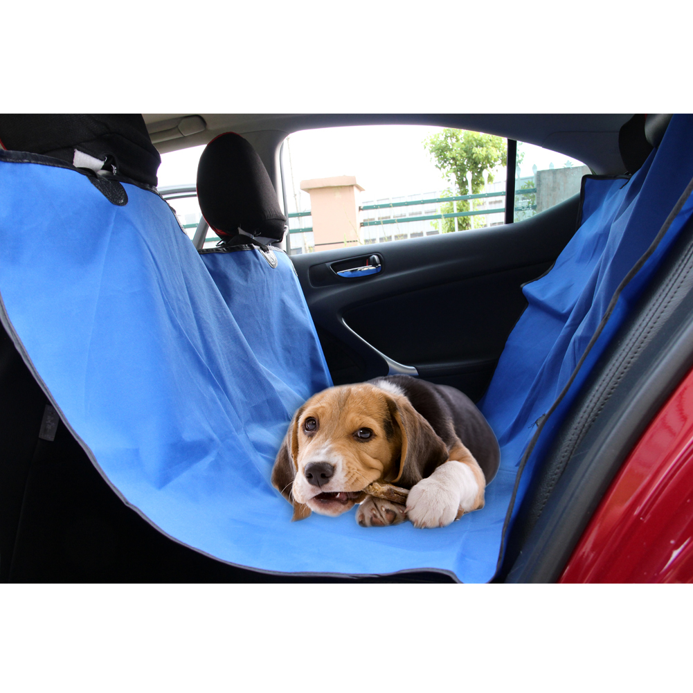 Waterproof Car Seat Cover For Pet Blue Automotive Styling Protector Back