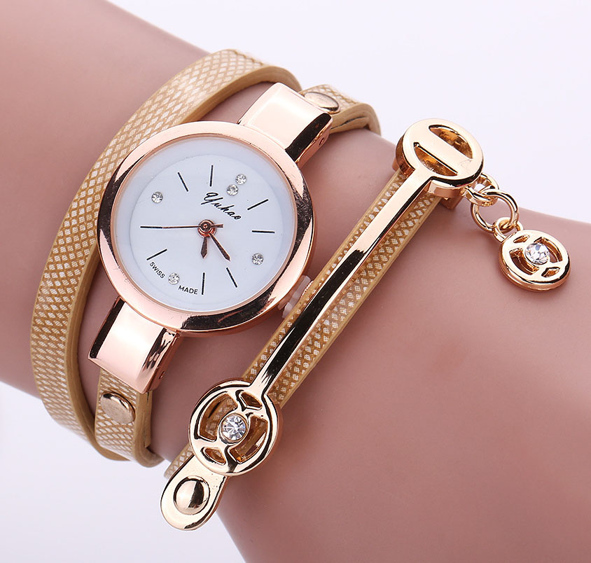 2018 NEW Luxury Leather Quartz Watch Women Ladies Crystal Fashion Bracelet Metal Strap Wrist Watch Clock Relojes mujer 8A17 new 2017 crrju fashion casual clock bracelet watch women rhinestone watches women s elegant quartz wrist watch relojes mujer