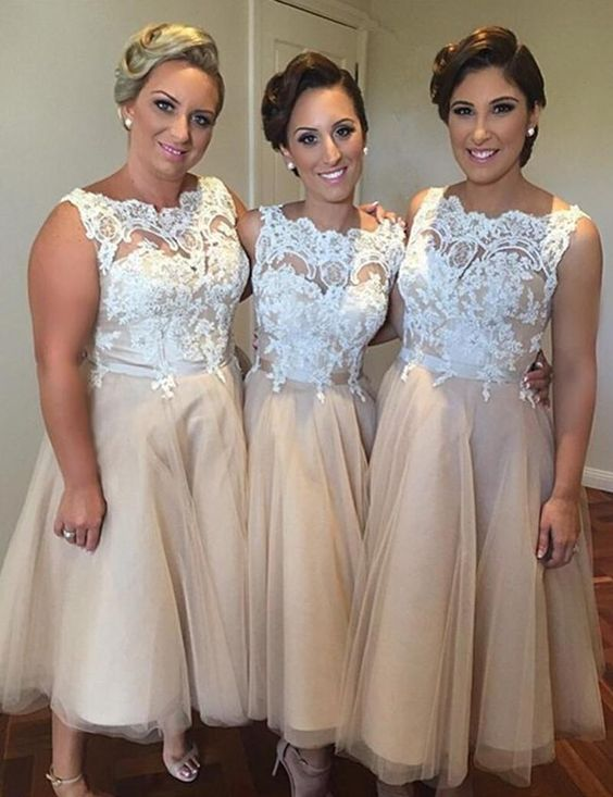 Popular Two Tone Dress Bridesmaid-Buy Cheap Two Tone Dress ...
