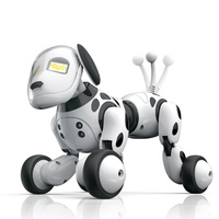 Robot Dog Electronic Intelligent Pet Education Toy Smart Remote Control Dog Singing and Dancing Toys for Kids Xmas Birthday Gift