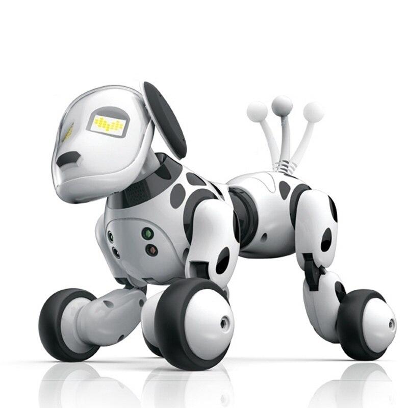Robot Chien Électronique Animal Intelligent L'éducation Jouet Intelligent Télécommande Chien Chant et Danse Jouets pour les Enfants De Noël Cadeau D'anniversaire