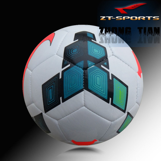 Free shipping  size 5 soccer balls   football The premier League match  football  free with ball net/mesh