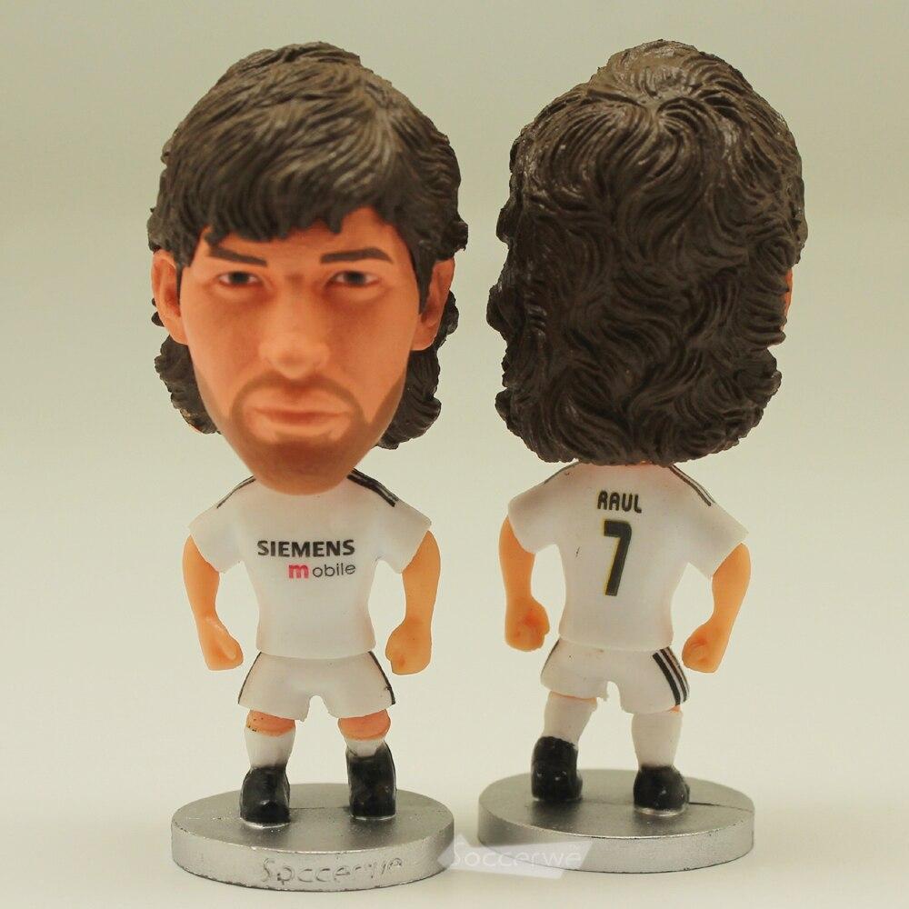 Soccer Star 7# RAUL (RM-2005) 2.5 Action Dolls Figurine
