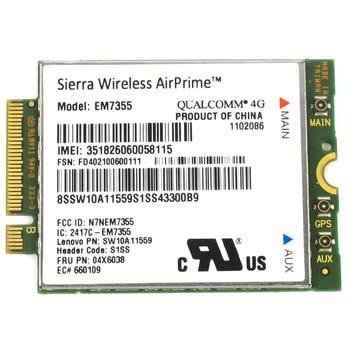 Wireless WWAN Card EM7355 Sierra Gobi5000 LTE 4G Module M.2 NGFF FRU 04X6038 For Lenovo L440 L540 T431s T440 T540P W540 X240