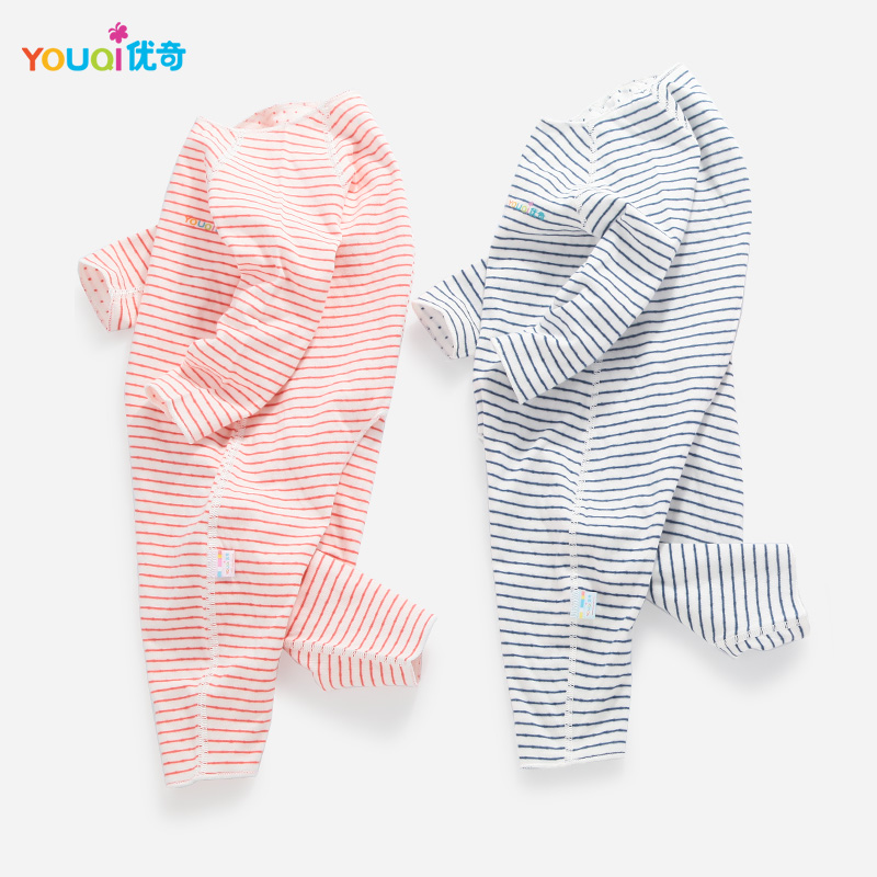 youqi thin summer baby clothing set cotton t shirt pants vest suit baby boys girls clothes 3 6 to 24 months cute brand costumes YOUQI Quality Baby Clothes Boy Baby Girl Rompers Cotton 3 6 24 Months Toddler Infantil Clothing Cute Child Jumpsuit Baby Clothes