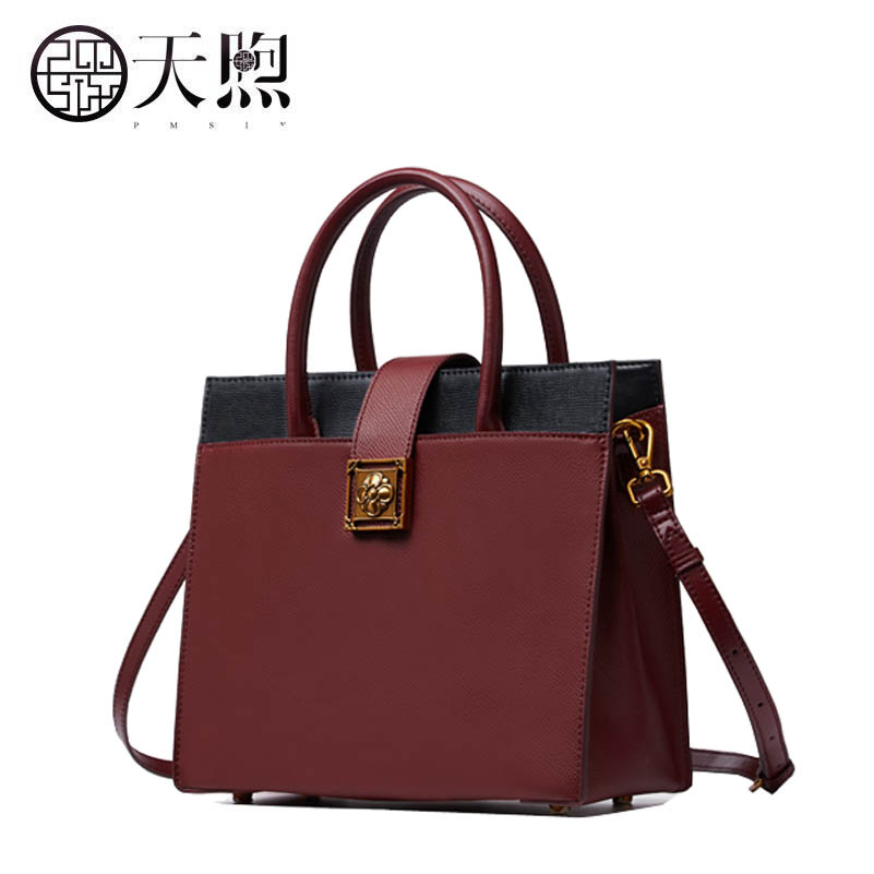 Famous brand top quality dermis women bag 2017 new original color spell Chinese style handbag leather shoulder Messenger bag 100pcs lot ss26 sr2100 smb do 214aa smd schottky diodes