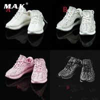 Four Colors 1 6 Scale Womens Fashionable Hollowout Sports Casual Shoes For 12 Inches Female Bodies
