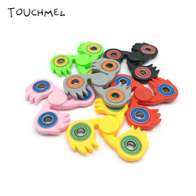 TOUCHMEL Fidget Toy Hand Spinner Anti Stress Wheel to Increase Focus Stress Song