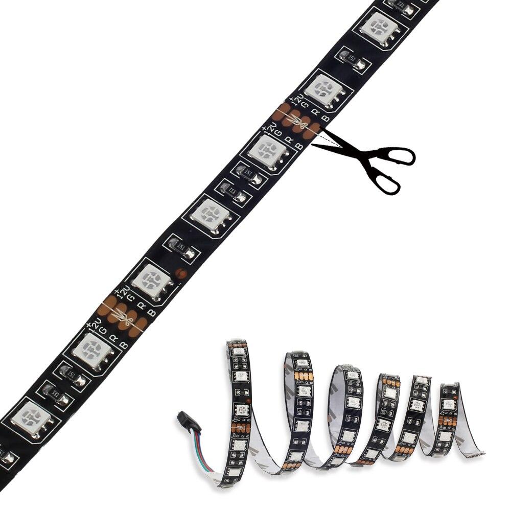 Tiras de Led luz de tira magnética pc Tensão : 12v