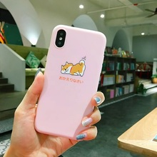 Shiba Inu Iphone case for iPhone For iphone XS MAX case XS XR 6 6S 7 8