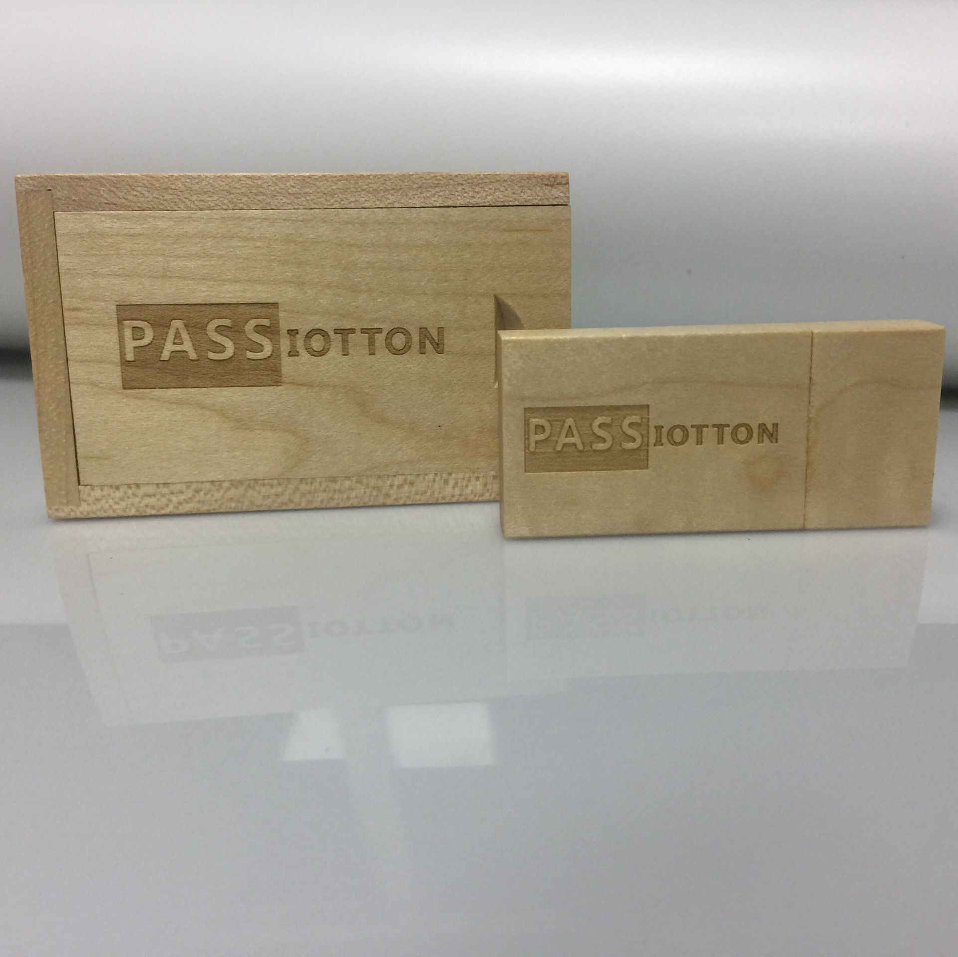 10pcs/lot Maple Wooden usb with Box usb pen key 2.0 Memory Flash Stick Pen Drive (Custom Your Logo.for Free)
