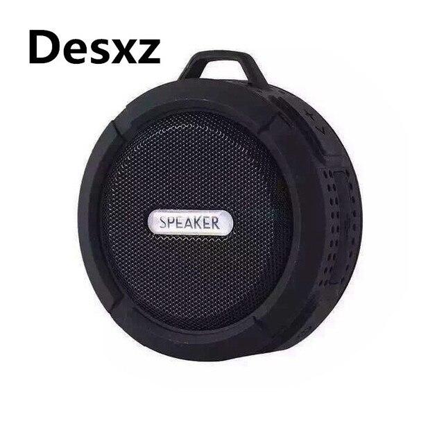 Desxz динамик Беспроводной Bluetooth Портативный Водонепроницаемый душ Altavoz с вызовами громкой связи altavoces для телефон музыкальный приемник Новый