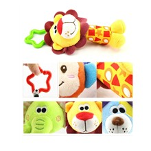 Baby Stroller Hanging Toy for baby gym Plush Animal Rattle Bed Bell Infant Baby Comfort Toy Cute Soft Toys Pushchair & Pram Toys Skip Hop Hanging Activity Toys