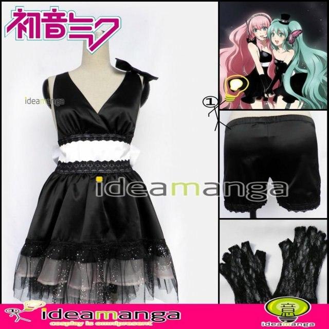 Manga Amime VOCALOID Magnet Luka Megurine Luka Women's Cosplay  Costume Female halloween party dress Any Size Freeshipping