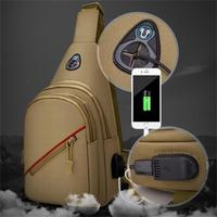 New chest bag outdoor tactical chest bag men's oxford outdoor shoulder bag