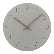 2017 Hot Selling Slient MDF Wooden Wall Clock Modern Design Vintage Rustic Shabby Quiet Art Watch Home Decoration