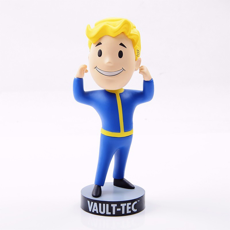 Fallout 4 Bobblehead Vault Boy Funko Figurine 7 styles 13cm PVC Anime Figure Heads Games Figma Funko Pop Vinyl Toy gift for Boys
