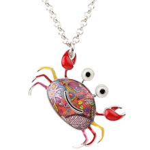 Crab Necklace Pendants