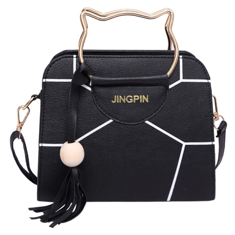 4Colors Summer Women Bag Leather Handbags PU Shoulder Bag Small Flap Crossbody Bags For Women Messenger Bags