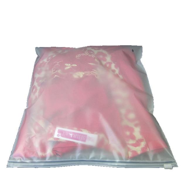 20 pieces/lot EVA Matt Scrub packaging bags Transparent Reclosable Zipper Lock Bag/ Retail shopping Bag