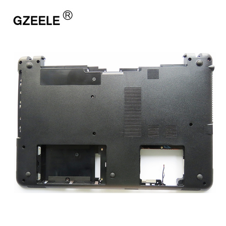 GZEELE New Case Bottom FOR Sony SVF151 SVF152 SVF153 SVF1541 SVF1521K1EB Svf1521p1r SVF152C29M SVF1521V6E Base Cover Laptop
