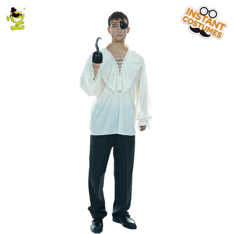 Pirate Shirt Men/'s Fancy Dress