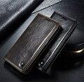 Original caseme brand wallet leather case para samsung galaxy s6 borde borde s7 cubierta del cuero del tirón magnético para samsung galaxy S6
