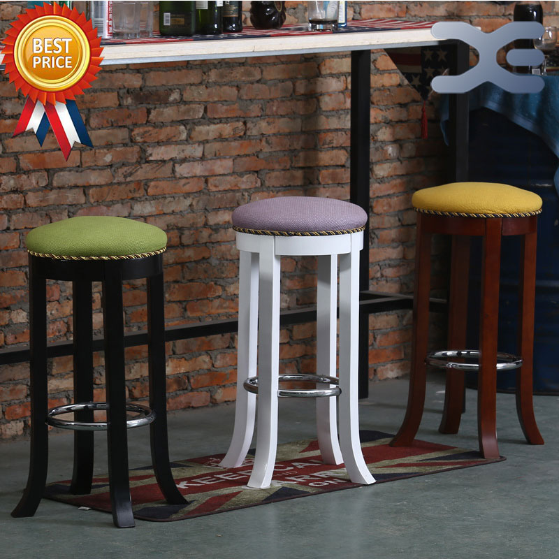 Online get cheap wood bar stools alibaba for Cheap modern industrial furniture