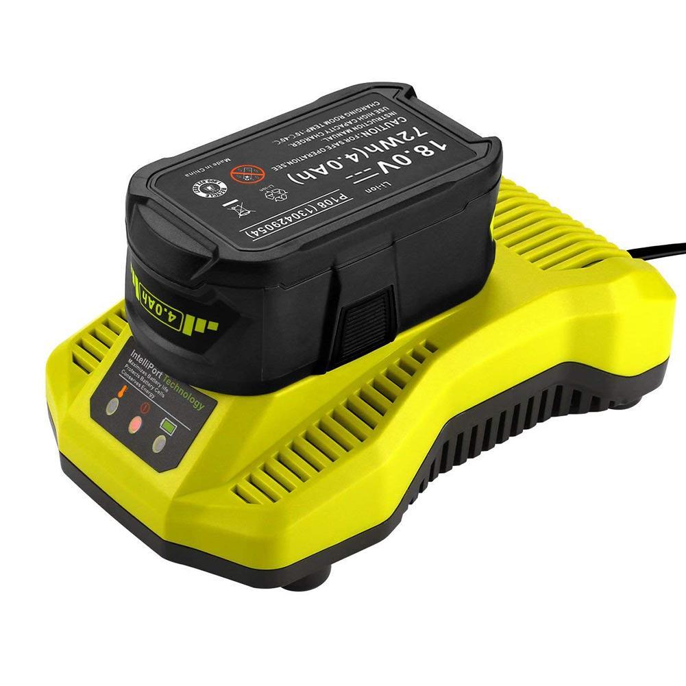 Durable Charger for Ryobi 7.2V-18V Lithium NiCD NiMH Battery EU/US Plug Tool 7 2v 250ma battery charger for 7 2 v aa nicd and nimh battery charger for rc toy car el plug ac 110 240v dc 7 2v 250mah eu plug