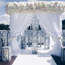 3 м* 3 м* 3 м белый свадебный павильон сценическое украшение, включая драпировку и подставку