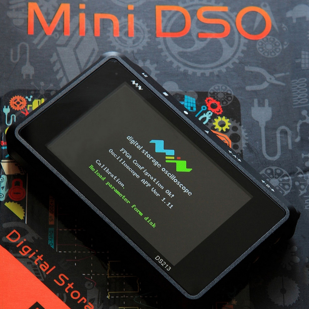 DS213 Digital Oscilloscope kit 4 Channel DSO213 Sampling Rate MCX 100MSa S 3 inch Colorful Screen