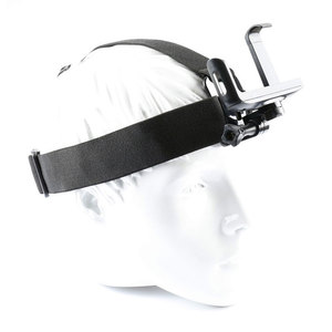 Image 5 - Montagem da correia da cabeça de gopro com grampo do telefone/suporte para o iphone huawei samsung para escalada/esqui/ciclismo esportes 360 graus girados