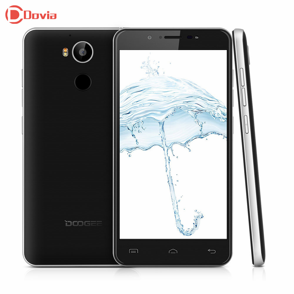 Original Doogee F7 5.5 inch 4G Phablet Helio X20 2.3GHz Deca Core 3GB RAM 32GB ROM 13.0MP Rear Camera Smartphone