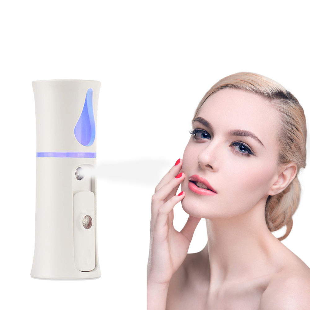 Portable Handheld 20ml USB Facial Steamer Nano Spray Nano Ionic Mist Sprayer Face Vaporizer Facial Moisturizing Mist Machine portable mini usb handy mist sprayer facial body nebulizer steamer face skin care moisturizing spray beauty instrument