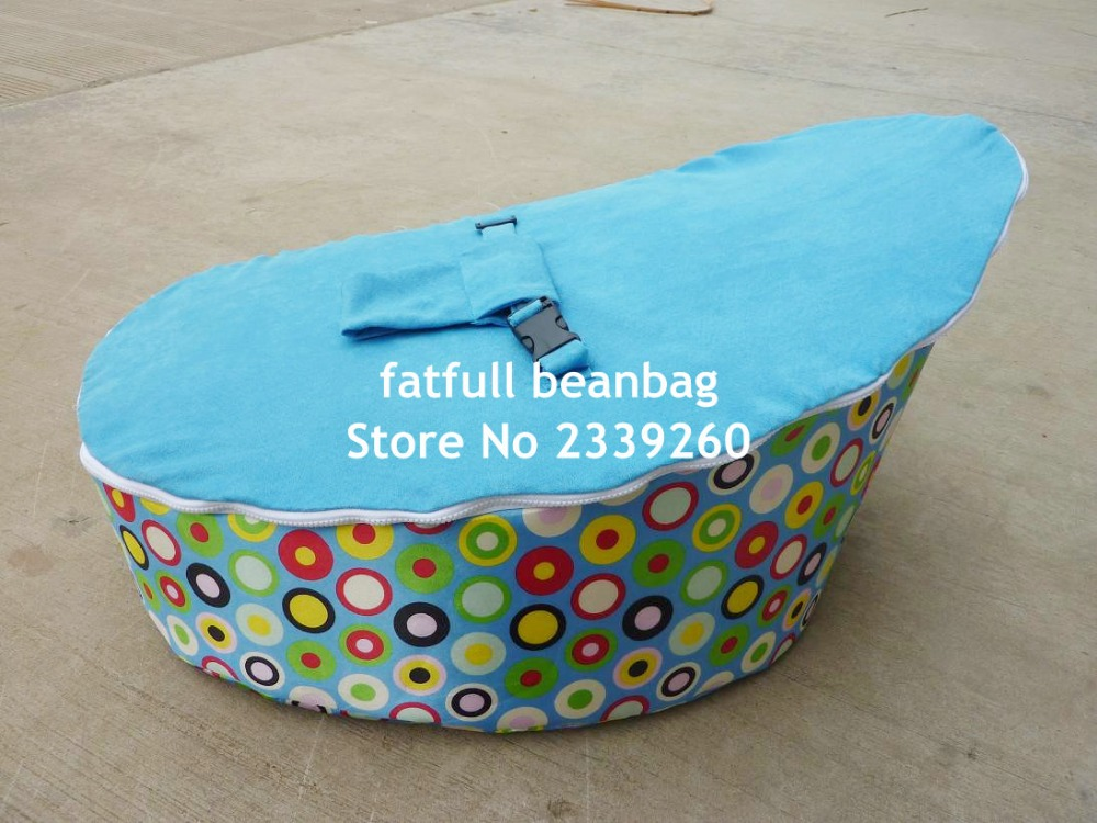 COVER ONLY  NO FILLINGS   cheap price good quality Zipper Baby Bean Bag  Soft Sleeping Bed Portable Seat Without beans. Good Price Furniture Promotion Shop for Promotional Good Price