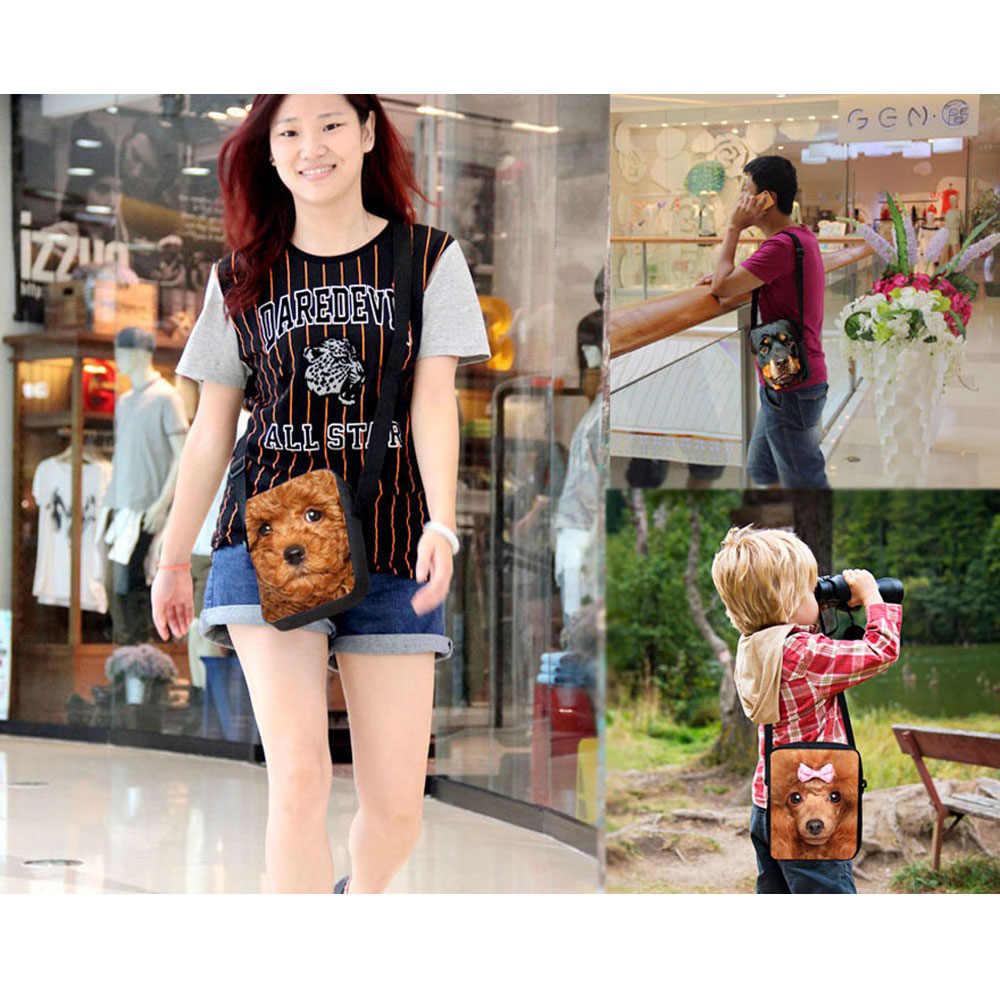 Forudesign/Модная Детская через плечо Школьные ранцы 3D Борзых собак Детская Книга школьный для детского сада Обувь для девочек Mochilas Эсколар