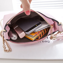Candy Color PU Leather Mini Chain Bag