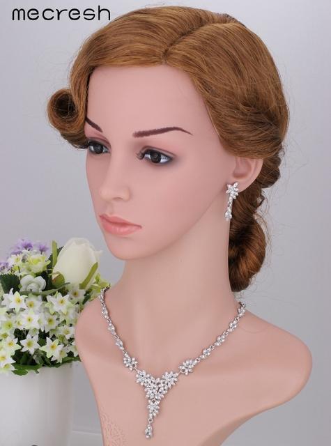 Leaf Crystal Bridal Jewelry Set