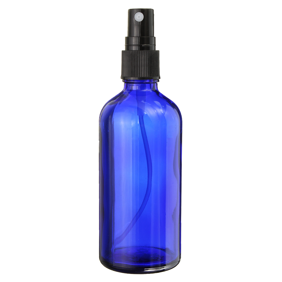 1pc/2pcs <font><b>100ml</b></font> Blue <font><b>Spray</b></font> <font><b>Glass</b></font> <font><b>Bottle</b></font> Essential Oil Liquid Sprayer Travel Empty Dispenser Fine Mist Atomizer Cosmetic Container image