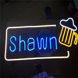 Обувь по заводским ценам открытый неоновой трубки буквы, Neon светодиодные фонари знаки для кофе магазин Парикмахерская Салон имя вывески