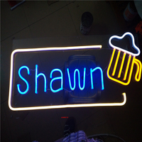 Factory Outlet Outdoor Neon Tube Letters Neon Led Lights Signs For Coffee Store Barber Shop Salon