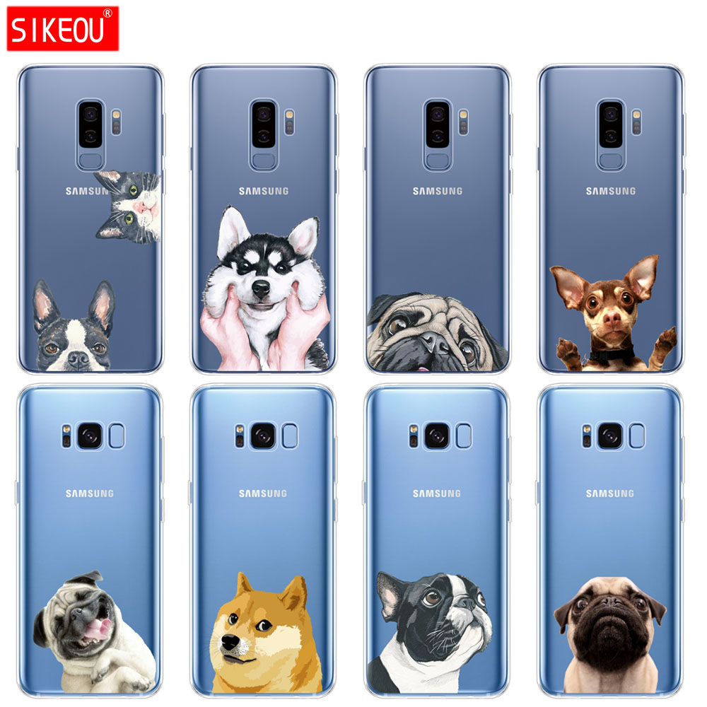 Cellphones & Telecommunications Cool Animal Panda Husky Puppy Cover For Samsung Galaxy S4 S5 Mini S6 S7 Edge S8 S9 Plus Grand Prime Note 4 5 8 Silicone Case Phone Bags & Cases
