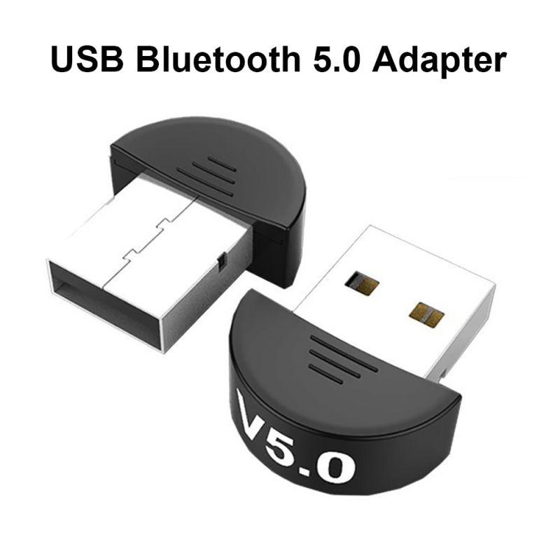 USB Bluetooth 5.0 Adapter Receiver Wireless Mini USB Bluetooth Dongle Receiver Wireless Audio Receiver Transmitter Dongle