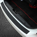 Car styling Rear Bumper Sill pedal Scuff Protective Cover For Kia Ceed Mohave OPTIMA Carens Borrego CADENZA SHUMA