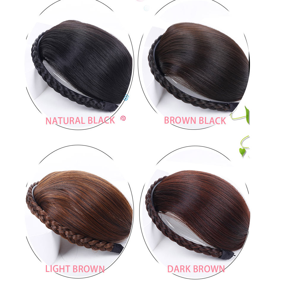 Available Fake Hair Bangs Girls Front Neat Bangs Hairpiece Tidy Hairpieces Heat Resistant  Women Hair Extension Allaosify WIG